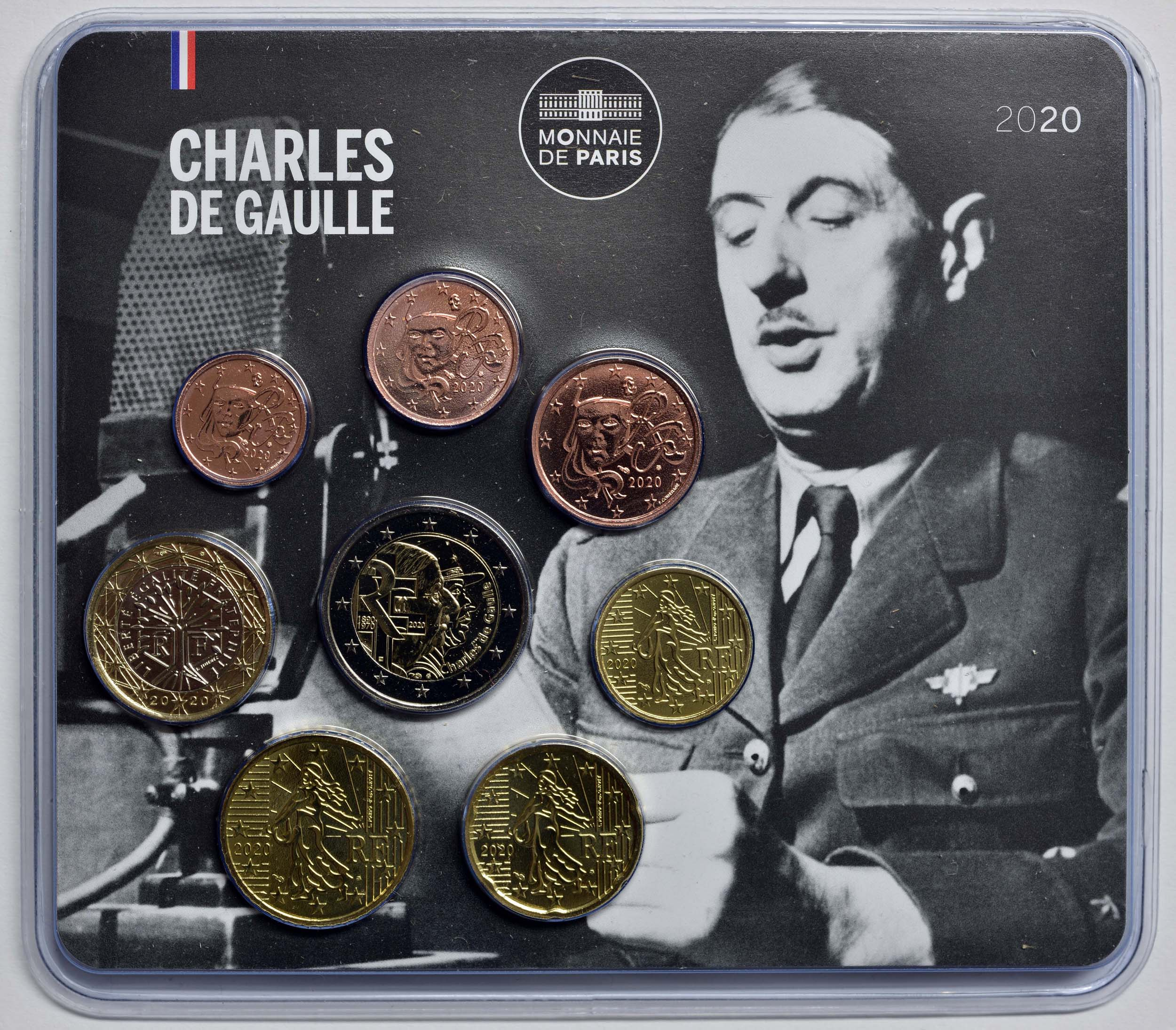 Lieferumfang:Frankreich : 3,88 Euro Mini KMS Charles de Gaulle  2020 Stgl.