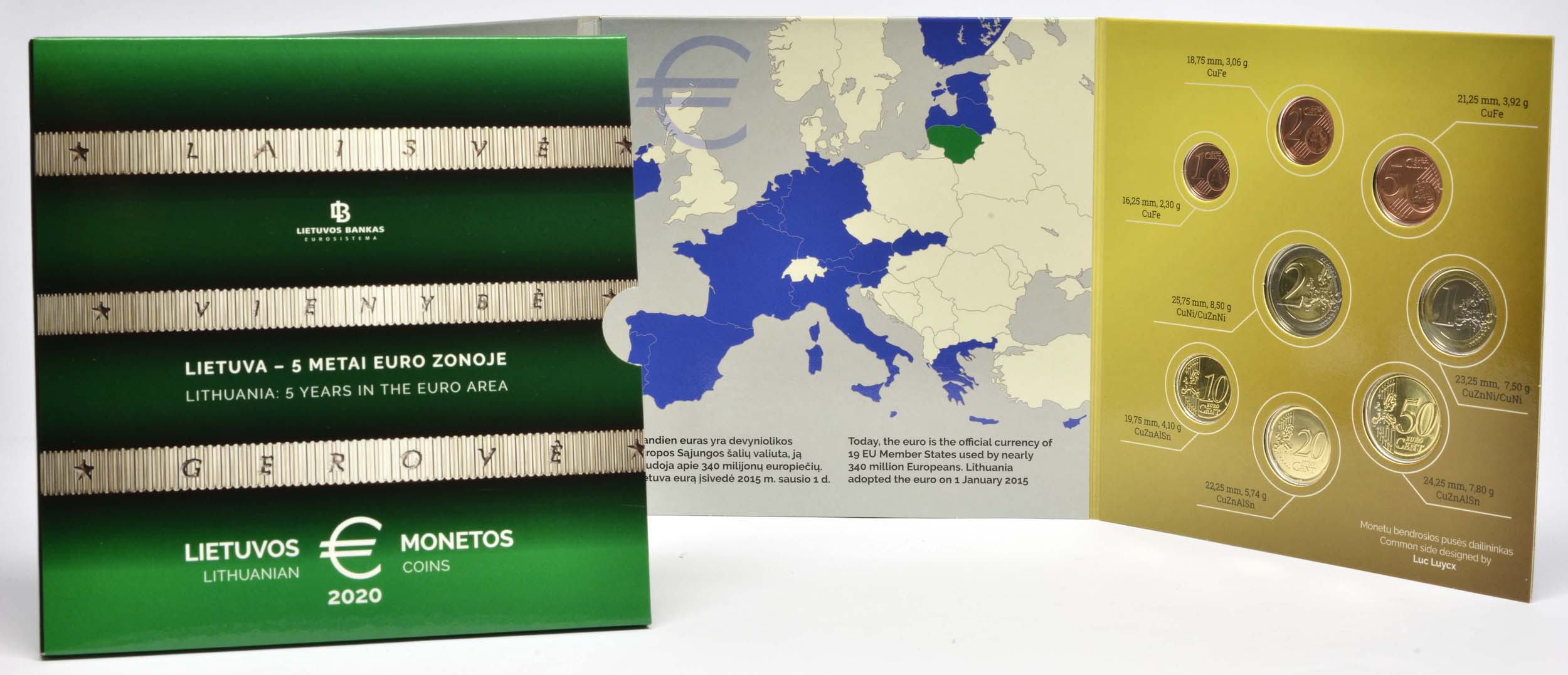 Lieferumfang:Litauen : 3,88 Euro KMS Litauen  2020 Stgl.