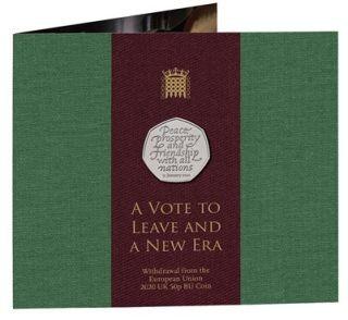 Lieferumfang:Großbritannien : 50 Pc Brexit Münze - Blister  2020 Stgl.
