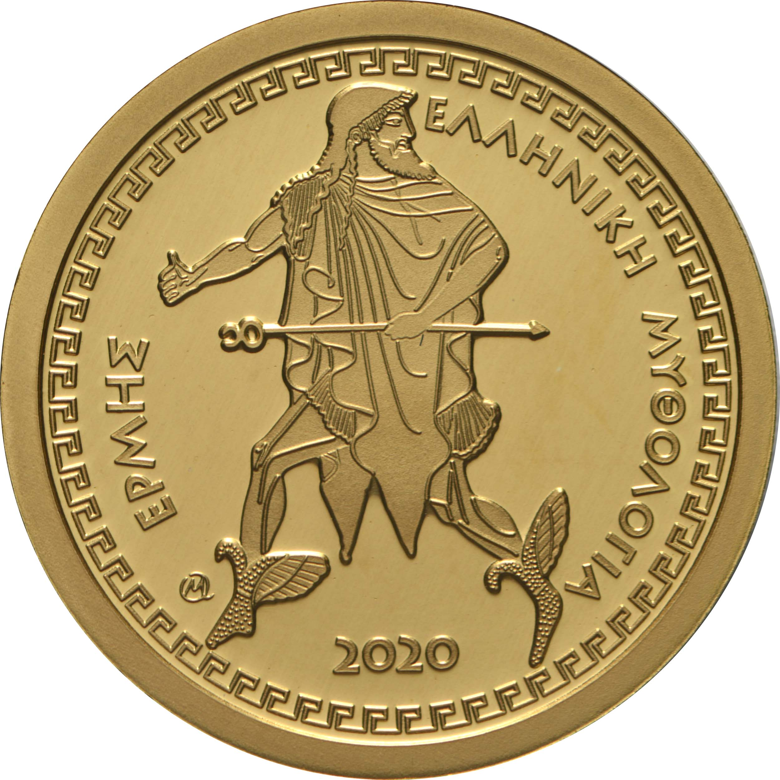 Vorderseite:Griechenland : 100 Euro Olympische Götter - Hermes  2020 PP