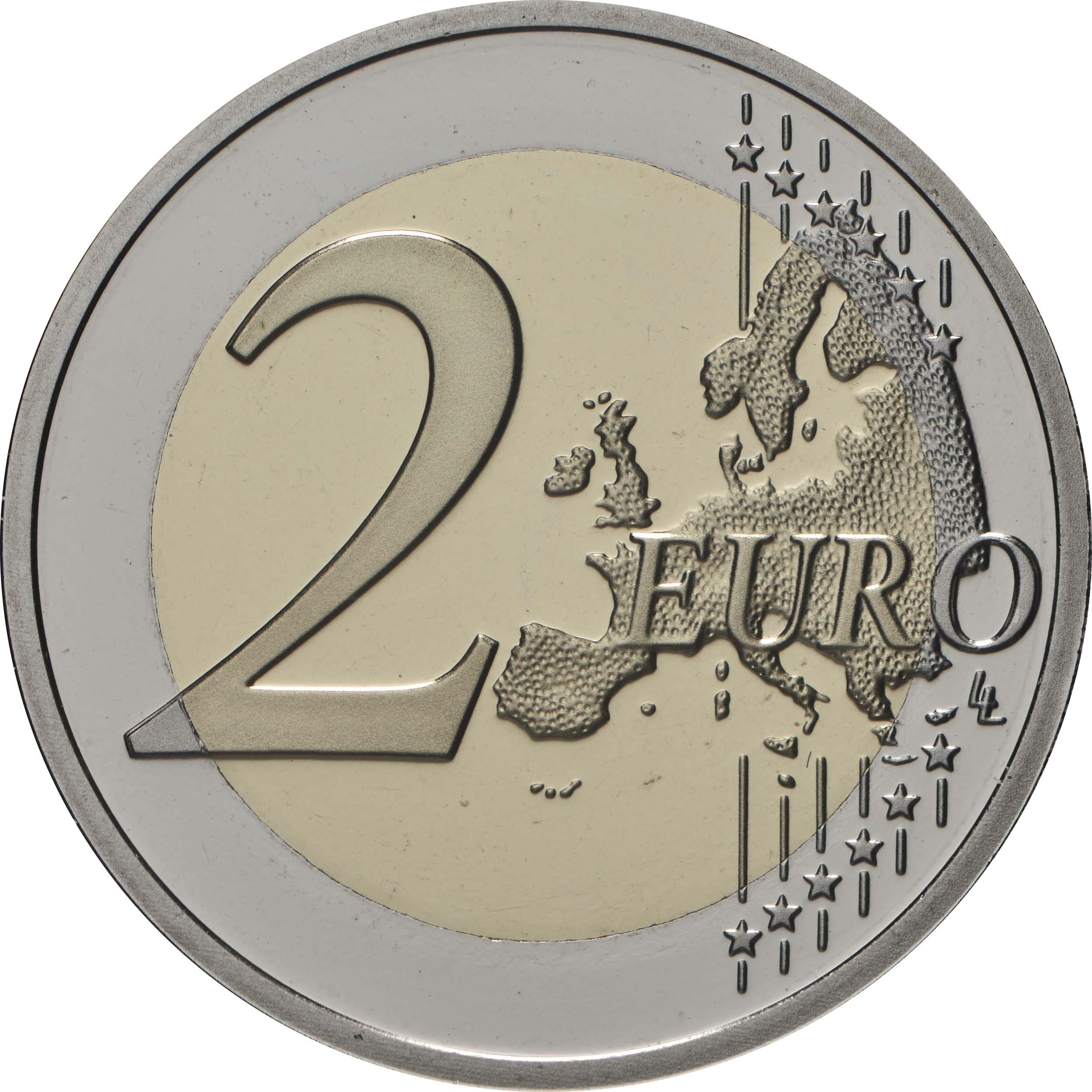 Vorderseite:Belgien : 2 Euro Internationales Jahr der Pflanzengesundheit  2020 PP