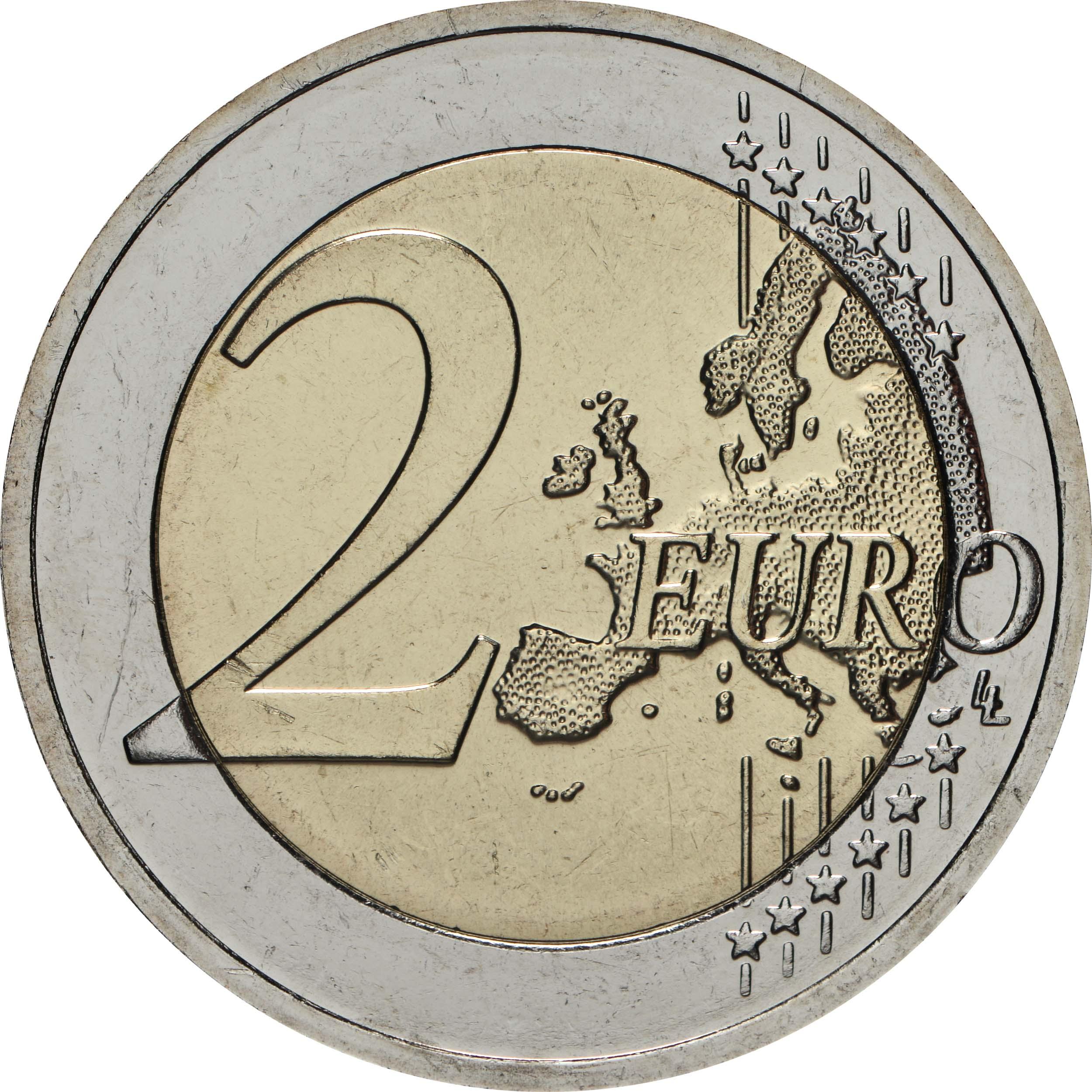 Vorderseite:Litauen : 2 Euro Berg der Kreuze  2020 bfr