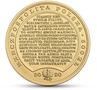 Rückseite:Polen : 500 Zloty Schätze v. Stanisl. August - Sigismund Vasa  2020 Stgl.