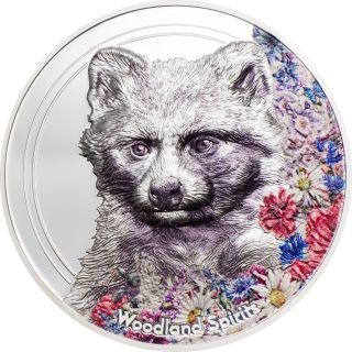 Lieferumfang:Mongolei : 500 T Woodland Spirits - Racoon Dog  smartminting  2020 PP