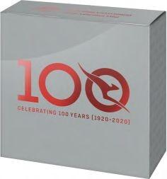 Zertifikat:Australien : 1 Dollar 100 Jahre Quantas - Fluglinie   1/2 oz  2020 PP