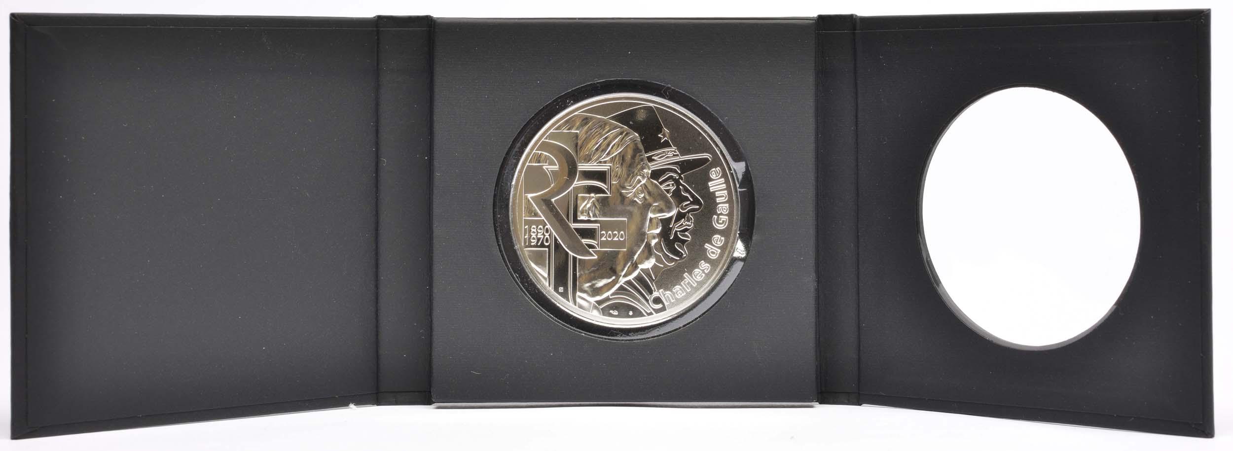 Lieferumfang:Frankreich : 100 Euro Charles de Gaulle  2020 Stgl.