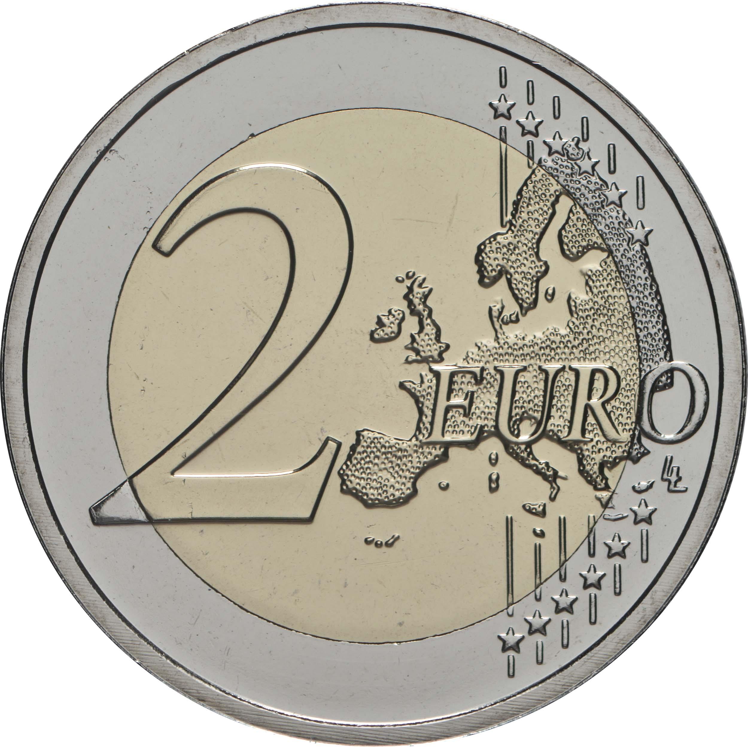 Vorderseite:Belgien : 2 Euro Internationales Jahr der Pflanzengesundheit  2020 Stgl.