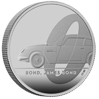 Lieferumfang:Großbritannien : 2 Pound James Bond 1 Oz (1)  2020 PP