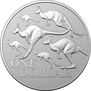 Lieferumfang:Australien : 1 Dollar Känguruh  1 oz Silver frosted  - in Kapsel  2020 Stgl.