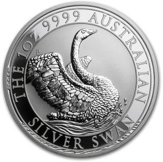 Lieferumfang:Australien : 1 Dollar Schwan  2020 Stgl.