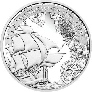 Lieferumfang:Australien : 1 Dollar Endeavour - Voyage of Discovery   1 oz  2020 PP