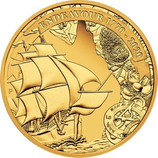Lieferumfang:Australien : 25 Dollar Endeavour - Voyage of Discovery   1/4 oz  2020 PP