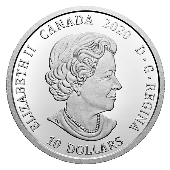 Vorderseite:Kanada : 10 Dollar 350 Jahre Hudson´s Bay Company  2020 PP