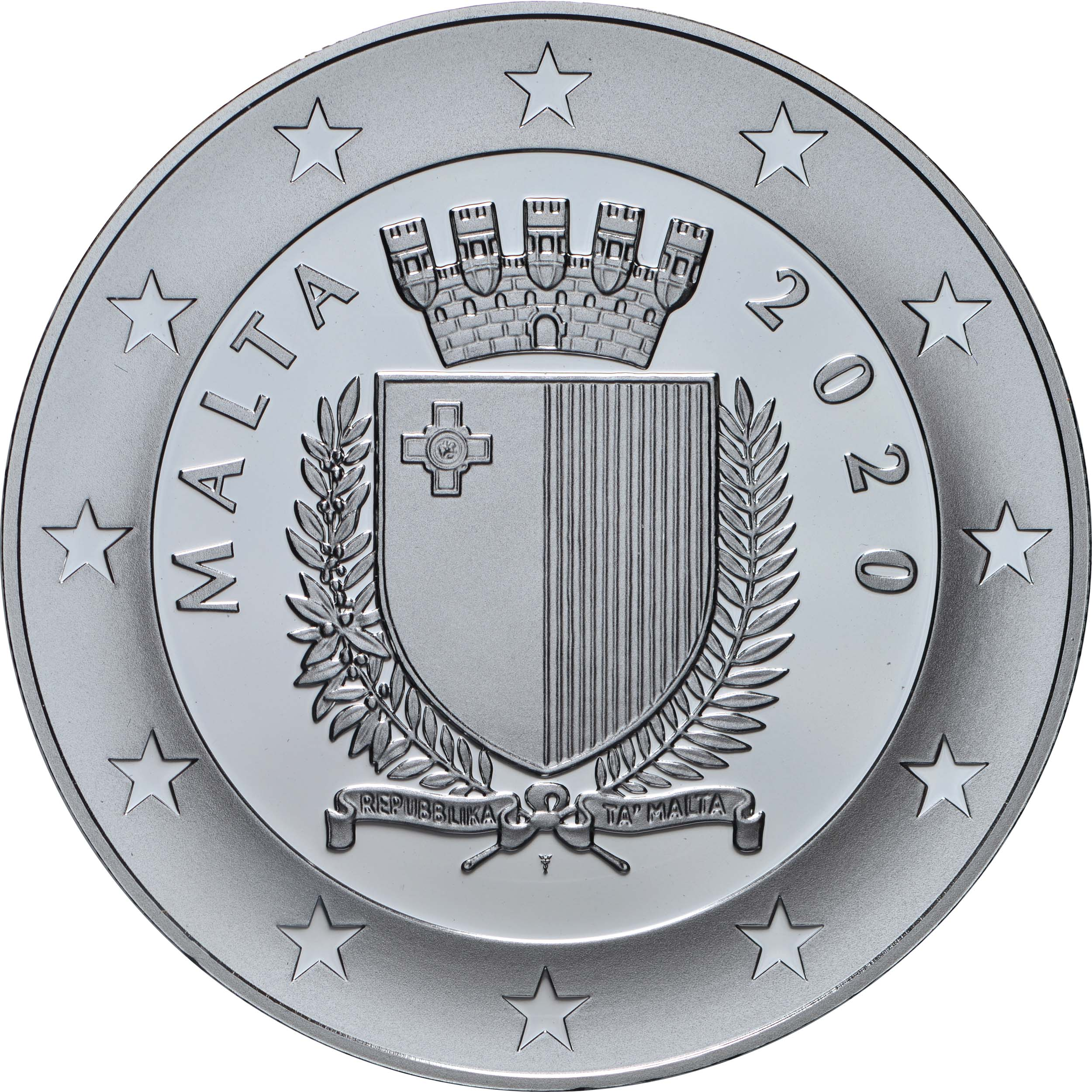 Rückseite:Malta : 10 Euro 250. Geburtstag Beethoven  2020 PP