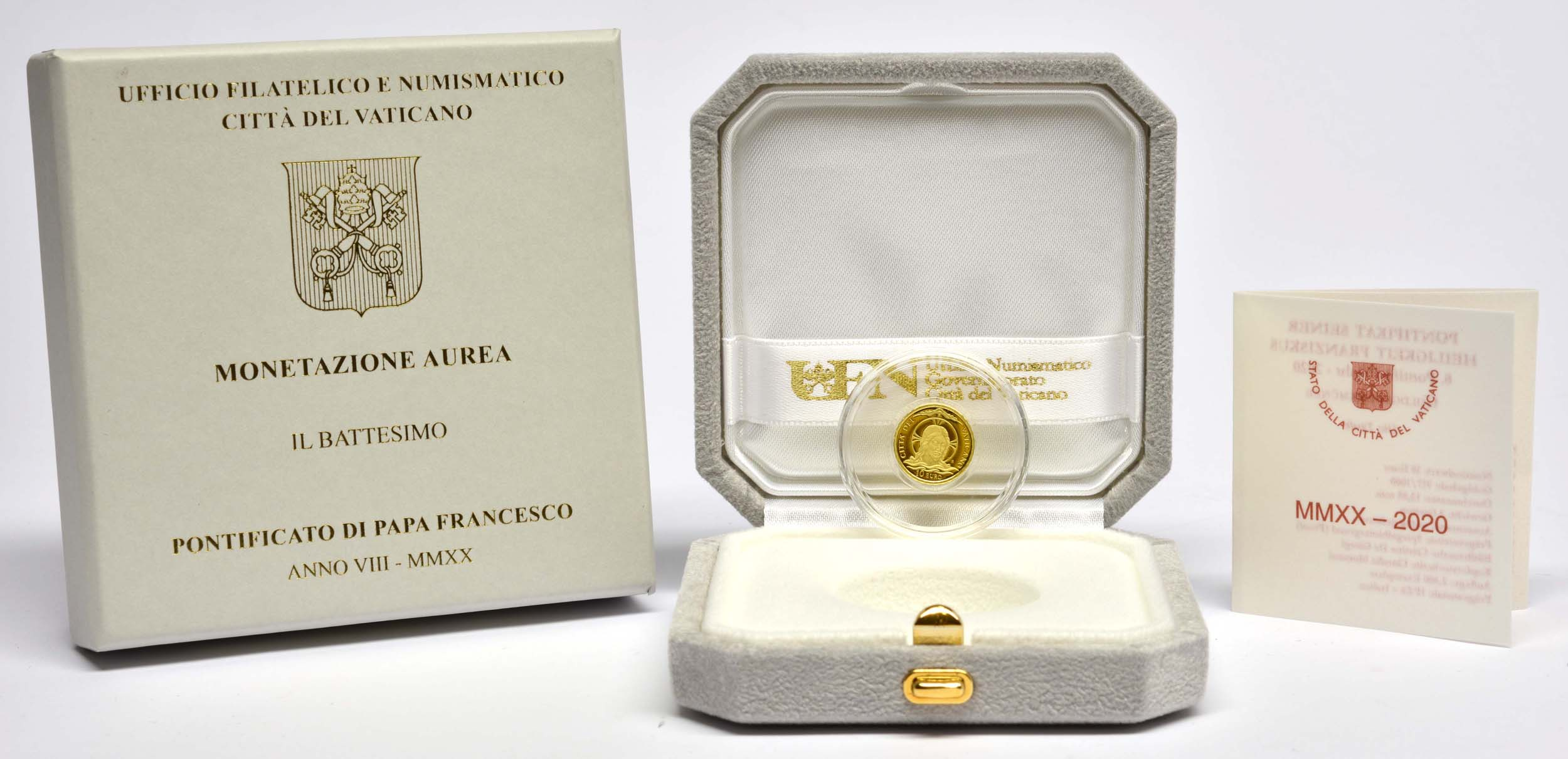 Lieferumfang:Vatikan : 10 Euro Taufe  2020 PP