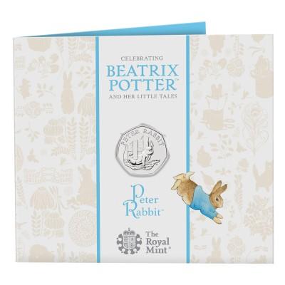 Lieferumfang:Großbritannien : 0.5 Pound Beatrix Potter - Peter Rabbit  2020 Stgl.