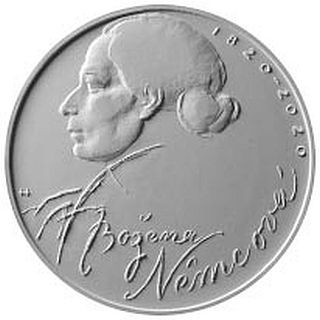 Lieferumfang:Tschechische Republik : 200 Kronen 200. Geb. Bozena Nemcova (Schriftstellerin)  2020 PP