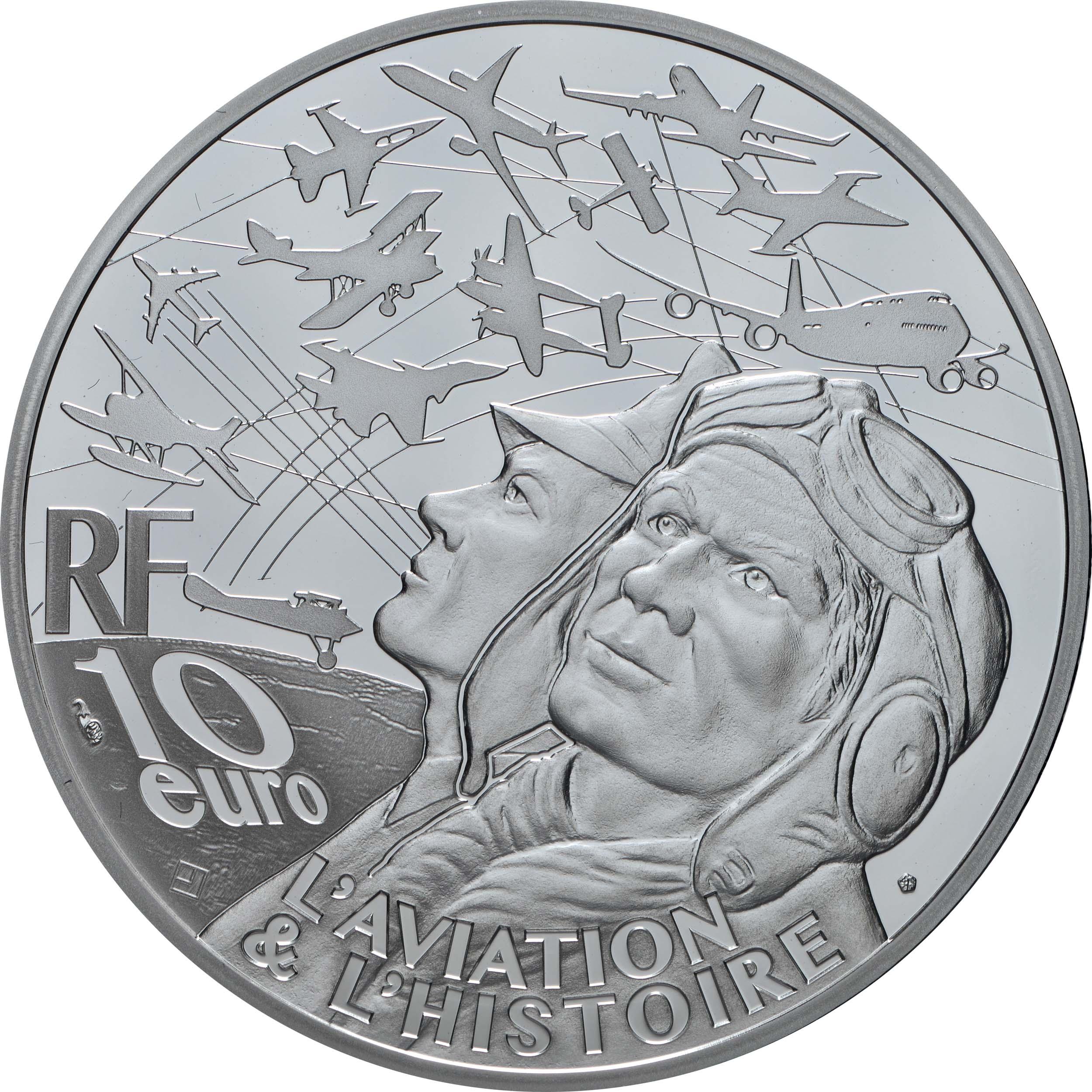 Rückseite:Frankreich : 10 Euro Spitfire  2020 PP
