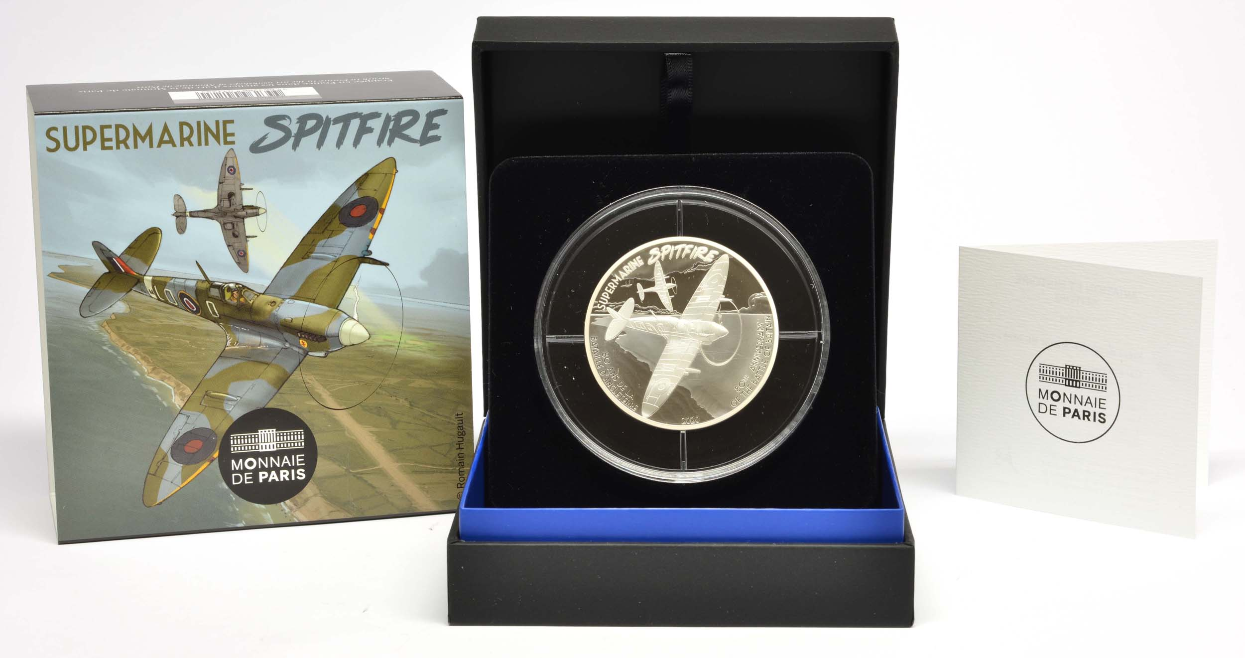 Lieferumfang:Frankreich : 10 Euro Spitfire  2020 PP