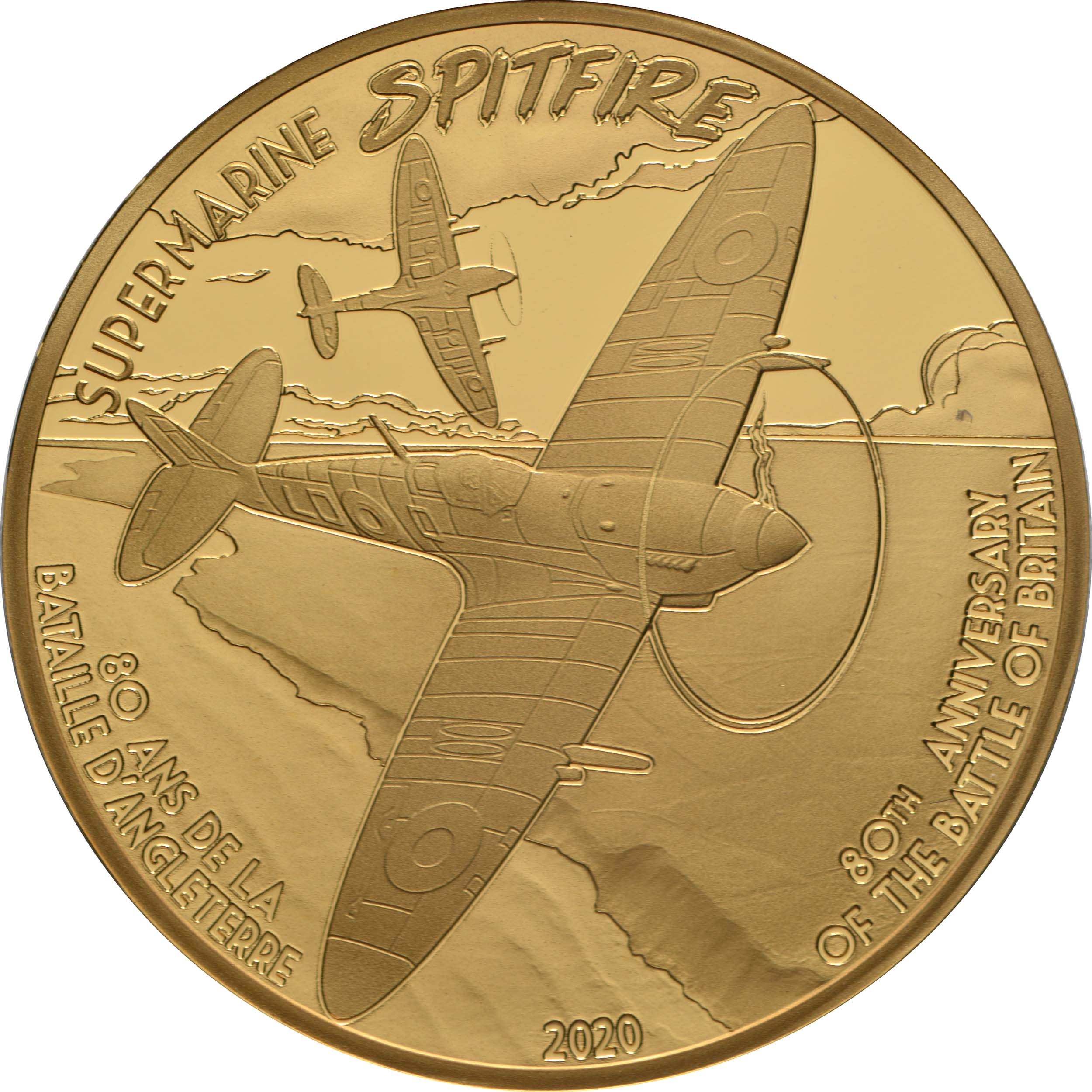 Vorderseite:Frankreich : 50 Euro Spitfire  2020 PP