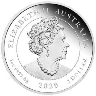 Rückseite:Australien : 1 Dollar 75 Jahre Ende des 2. Weltkrieges  2020 PP