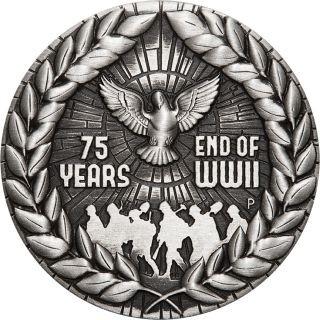 Lieferumfang:Australien : 2 Dollar 75 Jahre Ende des 2. Weltkrieges Antikfinish  2020 Stgl.