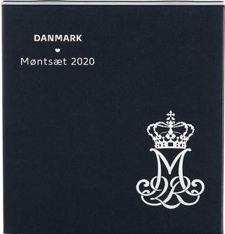 """Lieferumfang:Dänemark : 38,50 dKronen Kursmünzensatz """"80 Geb. Königin Margarethe""""  2020 PP"""