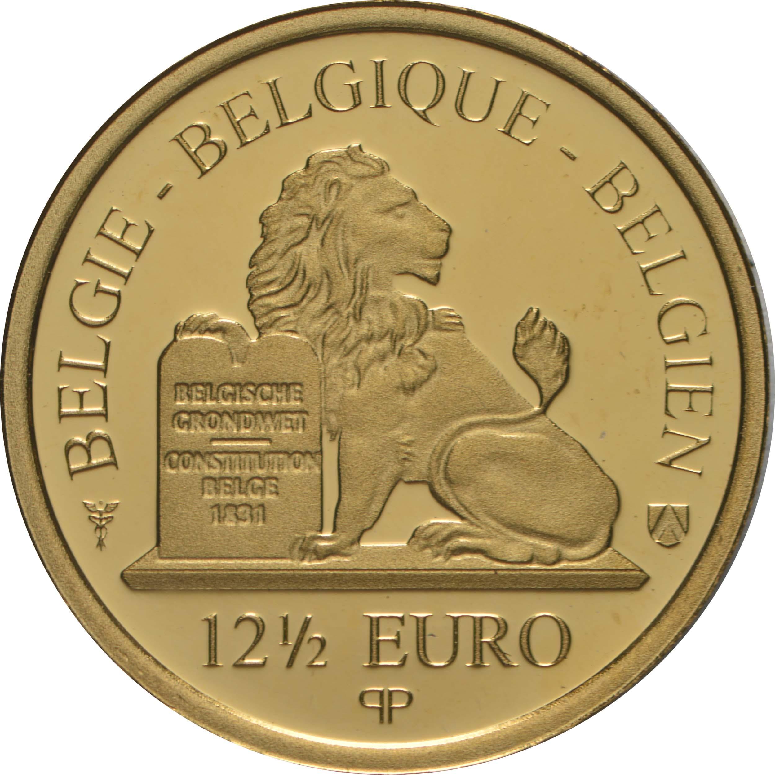 Rückseite:Belgien : 12,5 Euro Jane Brigode  2020 PP