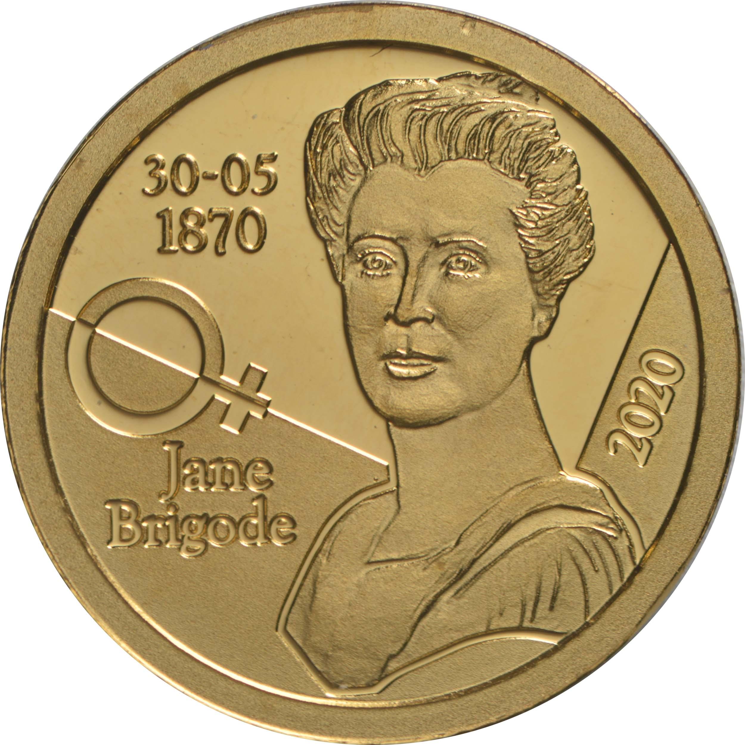 Vorderseite:Belgien : 12,5 Euro Jane Brigode  2020 PP