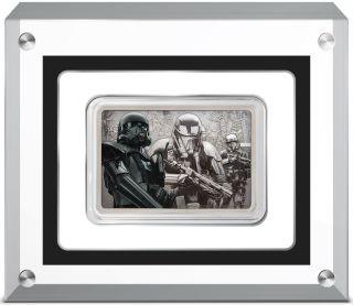 Vorderseite:Niue : 2 Dollar Death Trooper-Star Wars/Guards of the Empire  2020 Stgl.