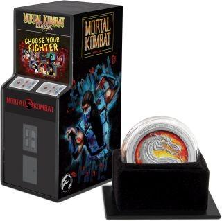 Lieferumfang:Niue : 2 Dollar Mortal Kombat - Videospiel   1 oz  2020 PP
