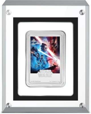 Lieferumfang:Niue : 2 Dollar Star Wars Poster - The Rise of Skywalker  2020 PP