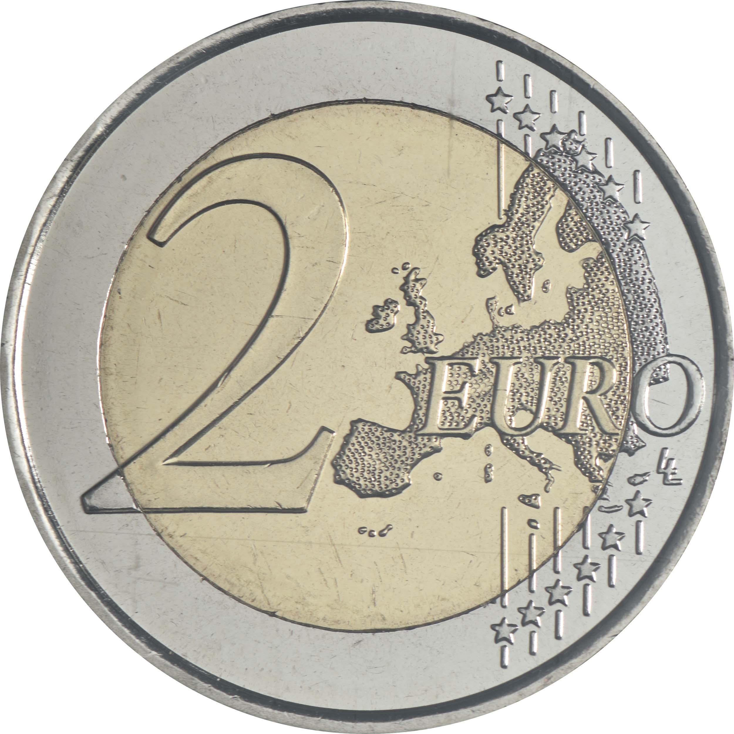 Vorderseite:Andorra : 2 Euro 27. Iberoamerikanische Gipfeltreffen in Andorra  2020 bfr