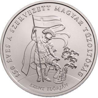 Vorderseite:Ungarn : 2000 Forint 150 Jahre Ungarische Feuerwehr  2020 Stgl.
