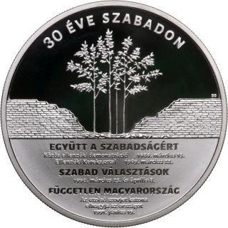Lieferumfang:Ungarn : 30000 Forint 30 Jahre Freiheit  2020 PP