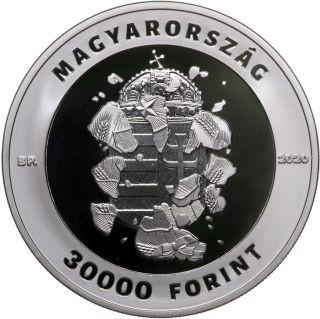 Vorderseite:Ungarn : 30000 Forint 30 Jahre Freiheit  2020 PP