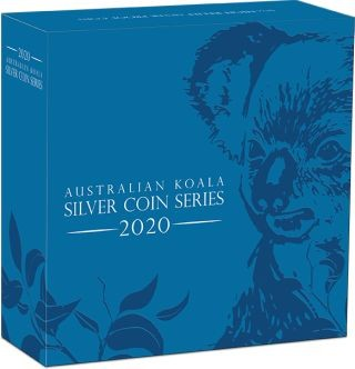 Zertifikat:Australien : 8 Dollar Koala - Highrelief 5 oz  2020 PP