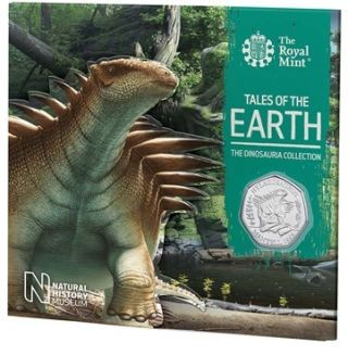Lieferumfang:Großbritannien : 50 Pc Dinosaurier Kollektion - Hylaeosaurus  Blister  2020 Stgl.