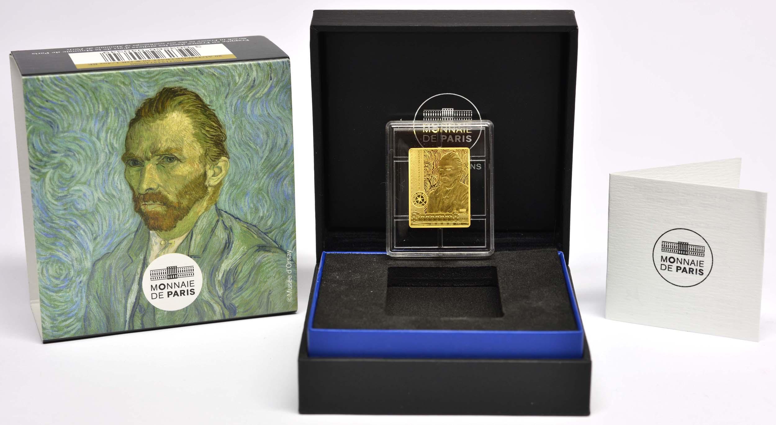 Lieferumfang:Frankreich : 50 Euro Van Gogh/Selbstportrait  2020 PP
