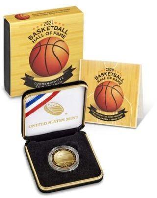 Lieferumfang:USA : 5 Dollar Basketball - Hall of Fame  2020 PP