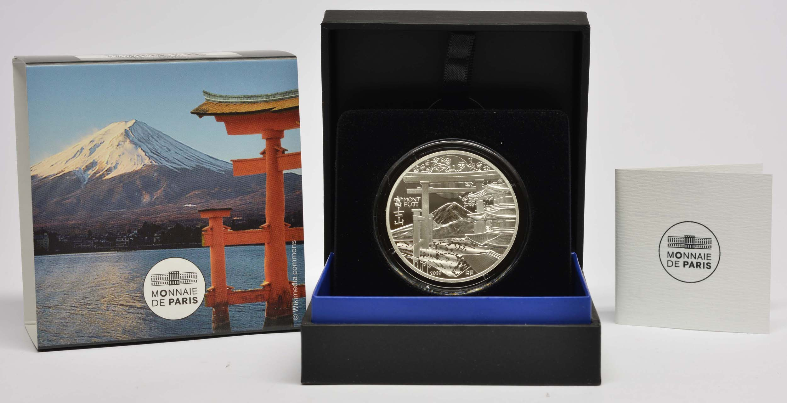 Lieferumfang:Frankreich : 10 Euro Die Drei Berge - Mt. Fuji  2020 PP