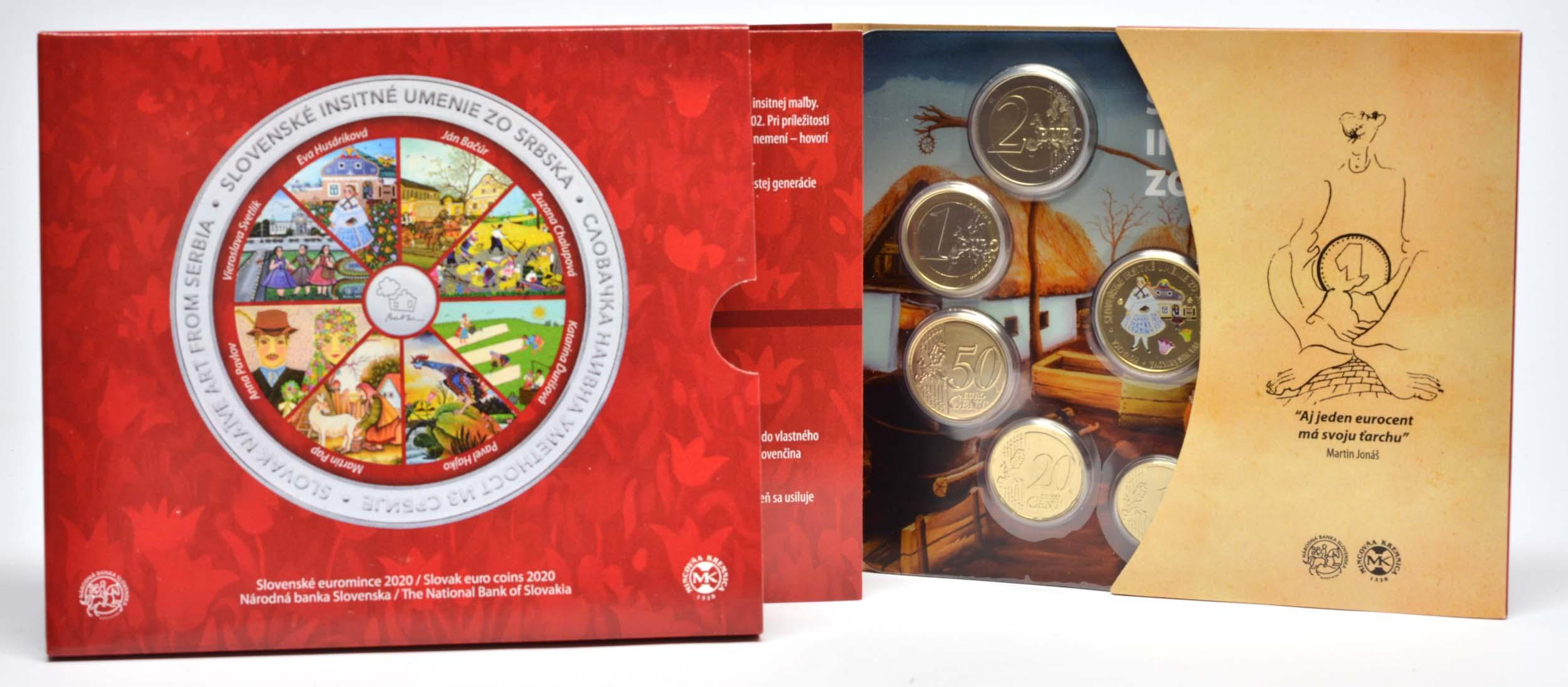 Lieferumfang:Slowakei : 3,88 Euro KMS Slowakei Naivmalerei von Serbien  2020 Stgl.