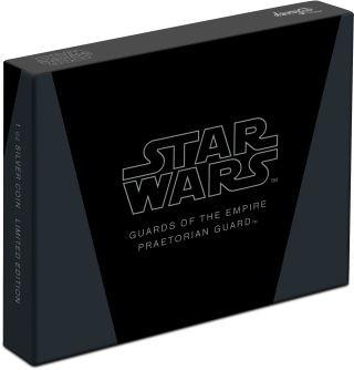 Zertifikat:Niue : 2 Dollar Praetorian Guards-Star Wars/Guards of the Empire  2020 Stgl.