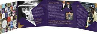 Zertifikat:Großbritannien : 5 Pfund Elton John - Musiklegenden  Blister  2020 Stgl.