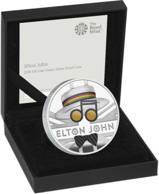 Lieferumfang:Großbritannien : 2 Pfund Elton John - Musiklegenden   2020 PP