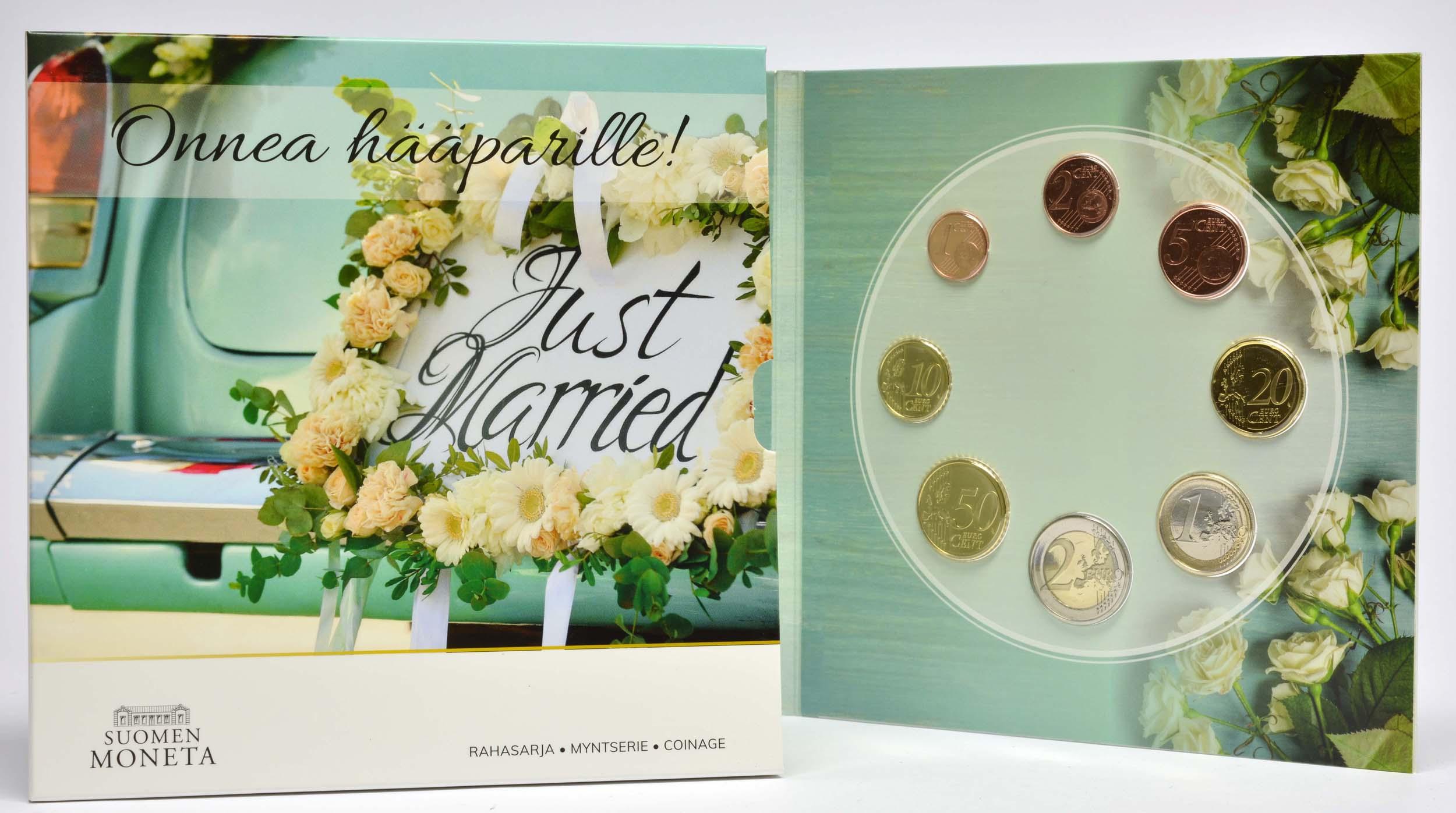 Lieferumfang:Finnland : 3,88 Euro KMS Finnland Hochzeit  2020 Stgl.