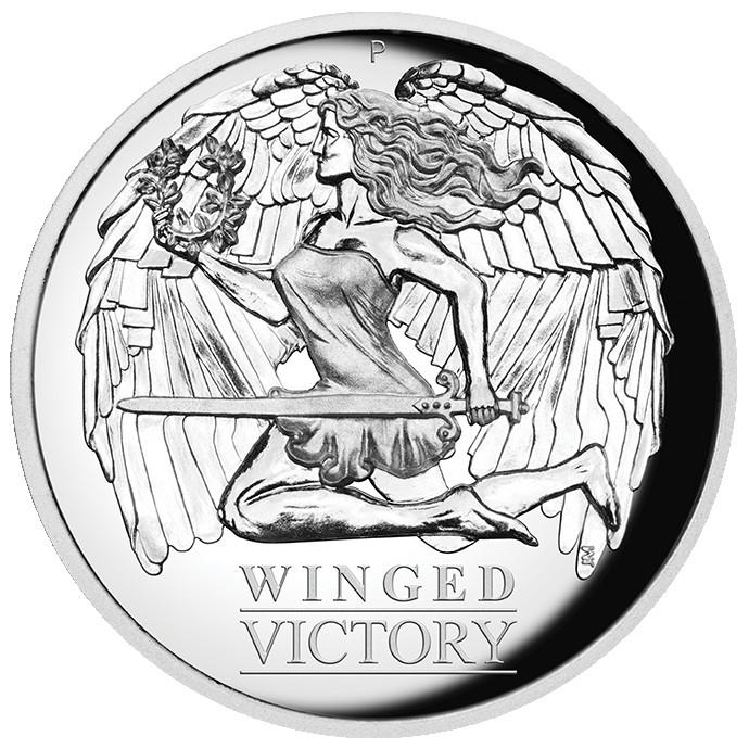 Vorderseite:Australien : 1 Dollar Winged Victory   2021 PP