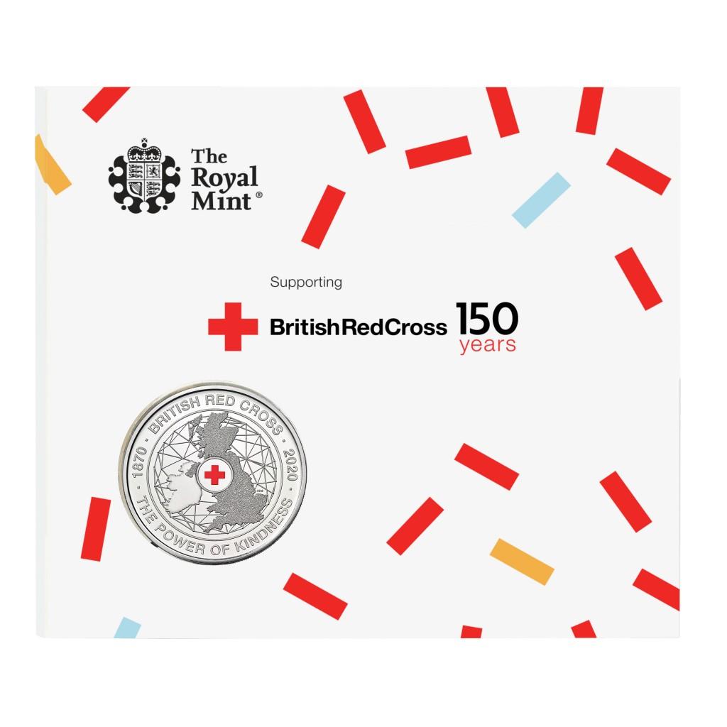 Lieferumfang:Großbritannien : 5 Pfund 150 Jahre Britisches Rotes Kreuz   2020 bfr