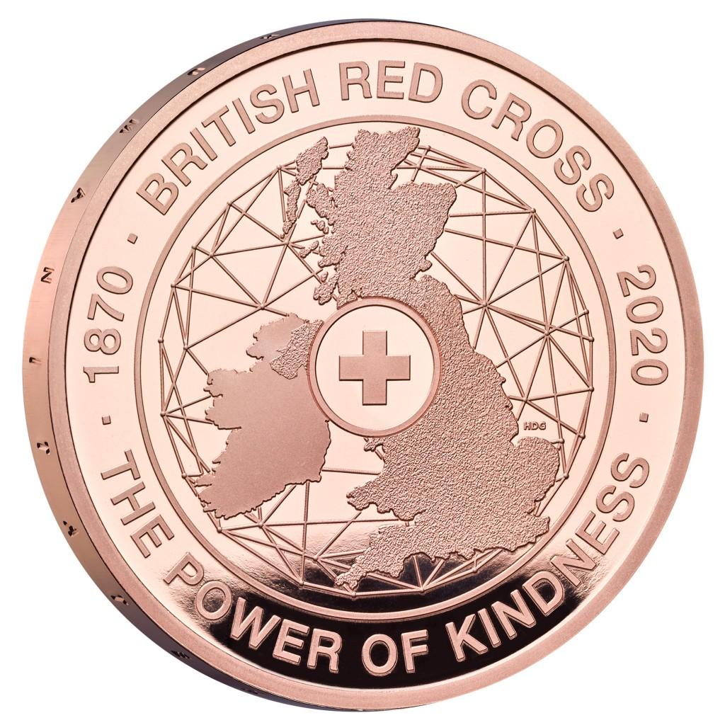 Lieferumfang:Großbritannien : 5 Pfund 150 Jahre Britisches Rotes Kreuz   2020 PP