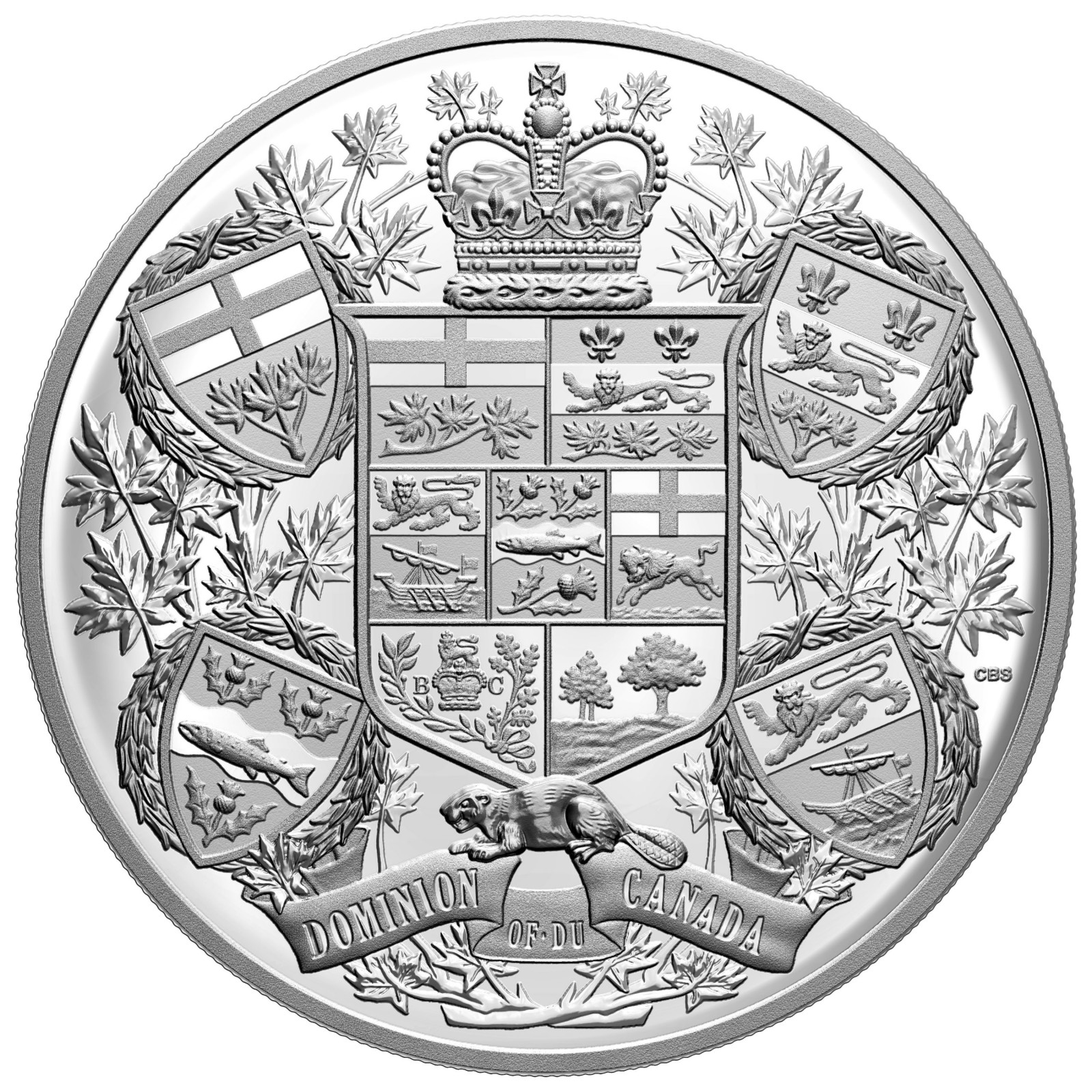 Vorderseite:Kanada : 250 Dollar Reimagined 1905 Arms of Domination of Canada   2020 PP